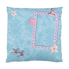 Bunny Slippers & Pajamas/friends  Pillow By Mikki   Standard Cushion Case (two Sides)   Tlhbp8ve1q3h   Www Artscow Com Back