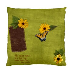 Love & Butterfly Pillow By Mikki   Standard Cushion Case (two Sides)   Onv73kyslaxq   Www Artscow Com Front