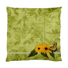 Love & Butterfly Pillow By Mikki   Standard Cushion Case (two Sides)   Onv73kyslaxq   Www Artscow Com Back