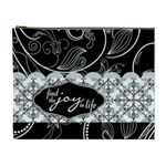 Find the Joy in Life XL Cosmetic Bag - Cosmetic Bag (XL)