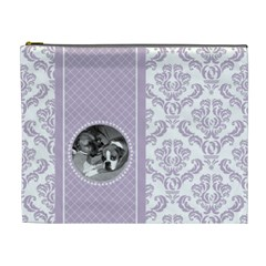 Lavender Love Xl Cosmetic Bag By Klh   Cosmetic Bag (xl)   Ezjepl8r0mzf   Www Artscow Com Front