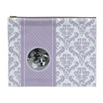 Lavender Love XL Cosmetic Bag - Cosmetic Bag (XL)