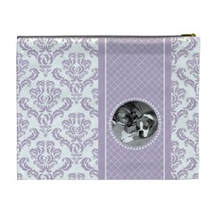 Lavender Love Xl Cosmetic Bag By Klh   Cosmetic Bag (xl)   Ezjepl8r0mzf   Www Artscow Com Back
