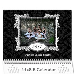 Pact Calendar By Tracy Gardner   Wall Calendar 11  X 8 5  (12 Months)   V4ik7gckr8nf   Www Artscow Com Cover