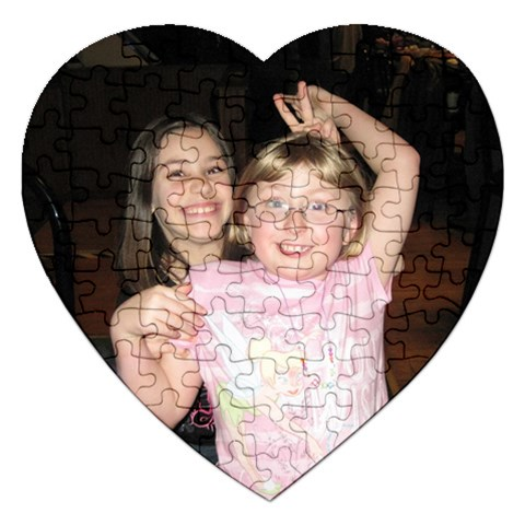 Puzzle For Emily By Jessica Rudnitzki   Jigsaw Puzzle (heart)   Pwb2r4qzivit   Www Artscow Com Front