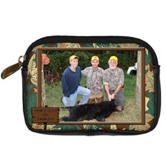 Hunting Camera Case By Nicole Nalley   Digital Camera Leather Case   Qznrzwpk6gy3   Www Artscow Com Front