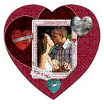 You & Me Heart Puzzle - Jigsaw Puzzle (Heart)