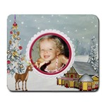 Here Comes Santa Mouse Pad1 - Collage Mousepad