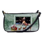 Here Comes Santa Shoulder Bag1 - Shoulder Clutch Bag