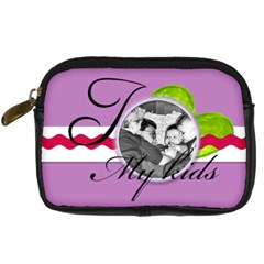 I Love My Kids By Brookieadkins Yahoo Com   Digital Camera Leather Case   Fackdeda1na3   Www Artscow Com Front
