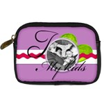 I love My kids - Digital Camera Leather Case