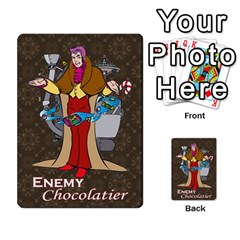 Enemychocolate By Bernard Donohue   Playing Cards 54 Designs   W80dba5fhsm3   Www Artscow Com Front - Joker1