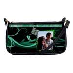 Green with Envy Shoulder Clutch Bag