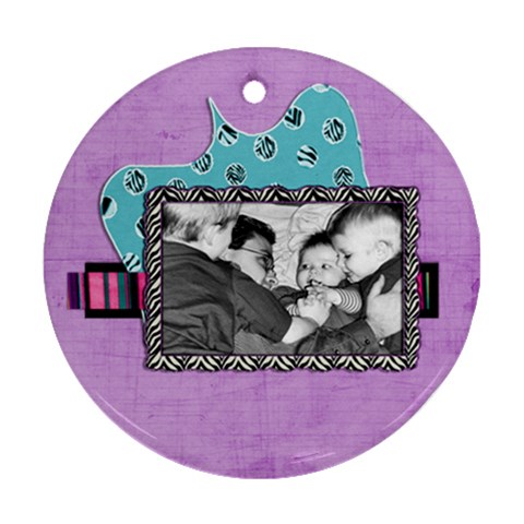 By Brookieadkins Yahoo Com   Ornament (round)   7v8hbznimnq3   Www Artscow Com Front