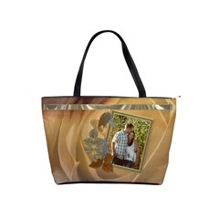 Golden Dreams Shoulder Handbag By Lil    Classic Shoulder Handbag   Py7xqr34yw2o   Www Artscow Com Front