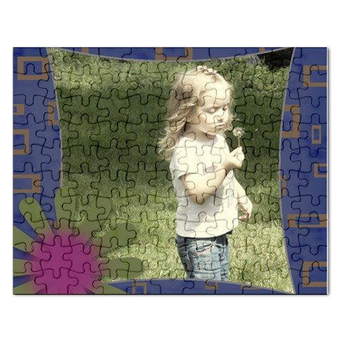 Single Photo Funky Puzzle By Amanda Bunn   Jigsaw Puzzle (rectangular)   Y8fwu6zl73jj   Www Artscow Com Front