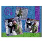 3 Photo Snow Puzzle - Jigsaw Puzzle (Rectangular)