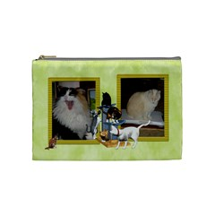 Cats2 By Karen   Cosmetic Bag (medium)   S8ufro10bbcj   Www Artscow Com Front