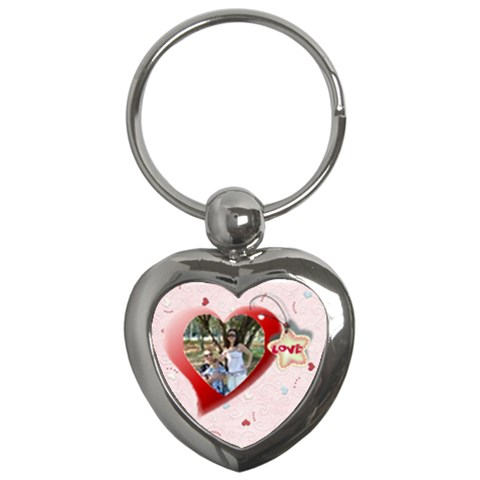 Red Heart By Daniela   Key Chain (heart)   6ri4kppwtwzs   Www Artscow Com Front