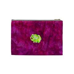 Floral Fun Medium Cosmetic Case By Joan T   Cosmetic Bag (medium)   Zsl246po10y1   Www Artscow Com Back