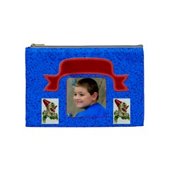 Circus Fun Medium Cosmetic Case By Joan T   Cosmetic Bag (medium)   21ftylptxgd9   Www Artscow Com Front