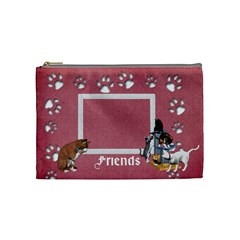 Friends Cosmetic Bag Medium 4 By Snackpackgu   Cosmetic Bag (medium)   Y3jobfscaq3b   Www Artscow Com Front