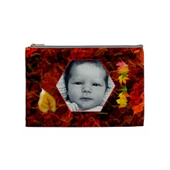 Autumn Song Medium Cosmetic Case By Joan T   Cosmetic Bag (medium)   0tmbkd3yduu1   Www Artscow Com Front