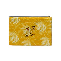 Autumn Song Medium Cosmetic Case By Joan T   Cosmetic Bag (medium)   1ngaq8m75k6a   Www Artscow Com Back