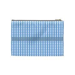 Baby Blue Medium Cosmetic Case By Joan T   Cosmetic Bag (medium)   Uh7y6v3733or   Www Artscow Com Back