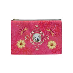 Melon Surprise Medium Cosmetic Case By Joan T   Cosmetic Bag (medium)   Smw5egusbd50   Www Artscow Com Front