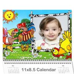 Kalendar Dari By Margarita Kuiumgian   Wall Calendar 11  X 8 5  (12 Months)   S7npn4oueaee   Www Artscow Com Cover