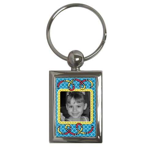 Rectangle Key Chain By Martha Meier   Key Chain (rectangle)   7nhnwcelz4zu   Www Artscow Com Front
