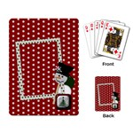 Christmas Playing Cards 1001 - Playing Cards Single Design
