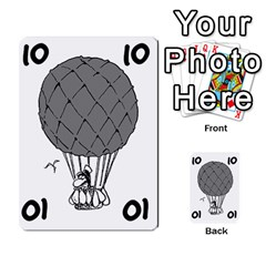 Balloon Cup By Kevin   Multi Purpose Cards (rectangle)   1zghh872g4z3   Www Artscow Com Front 6