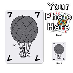 Balloon Cup By Kevin   Multi Purpose Cards (rectangle)   1zghh872g4z3   Www Artscow Com Front 7