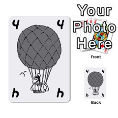 Balloon Cup By Kevin   Multi Purpose Cards (rectangle)   1zghh872g4z3   Www Artscow Com Front 8