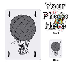 Balloon Cup By Kevin   Multi Purpose Cards (rectangle)   1zghh872g4z3   Www Artscow Com Front 9