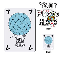 Balloon Cup By Kevin   Multi Purpose Cards (rectangle)   1zghh872g4z3   Www Artscow Com Front 13