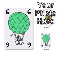 Balloon Cup By Kevin   Multi Purpose Cards (rectangle)   1zghh872g4z3   Www Artscow Com Front 20