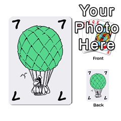 Balloon Cup By Kevin   Multi Purpose Cards (rectangle)   1zghh872g4z3   Www Artscow Com Front 21