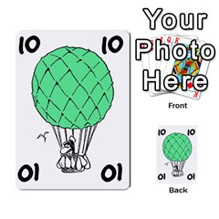 Balloon Cup By Kevin   Multi Purpose Cards (rectangle)   1zghh872g4z3   Www Artscow Com Front 23