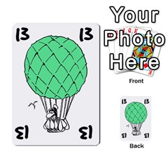 Balloon Cup By Kevin   Multi Purpose Cards (rectangle)   1zghh872g4z3   Www Artscow Com Front 25