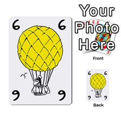 Balloon Cup By Kevin   Multi Purpose Cards (rectangle)   1zghh872g4z3   Www Artscow Com Front 30
