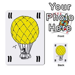 Balloon Cup By Kevin   Multi Purpose Cards (rectangle)   1zghh872g4z3   Www Artscow Com Front 34