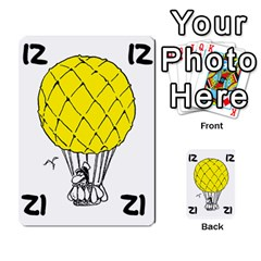 Balloon Cup By Kevin   Multi Purpose Cards (rectangle)   1zghh872g4z3   Www Artscow Com Front 35