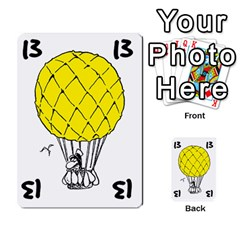 Balloon Cup By Kevin   Multi Purpose Cards (rectangle)   1zghh872g4z3   Www Artscow Com Front 36