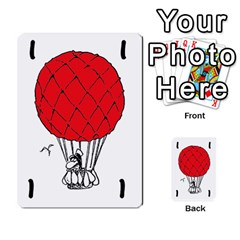 Balloon Cup By Kevin   Multi Purpose Cards (rectangle)   1zghh872g4z3   Www Artscow Com Front 37