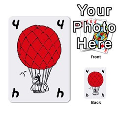 Balloon Cup By Kevin   Multi Purpose Cards (rectangle)   1zghh872g4z3   Www Artscow Com Front 40