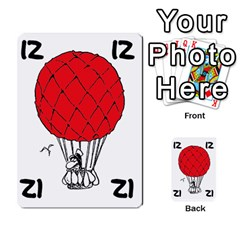 Balloon Cup By Kevin   Multi Purpose Cards (rectangle)   1zghh872g4z3   Www Artscow Com Front 48