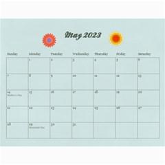 2015 Calendar By Mikki   Wall Calendar 11  X 8 5  (12 Months)   J2z829zv7uog   Www Artscow Com May 2015